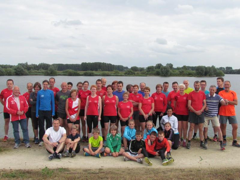 Clubtraining Linkhout Schulens meer Vrijdag 19 juni 2015