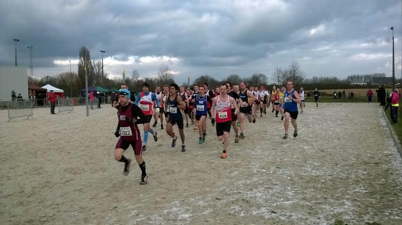 LCC veldloop Alken Zondag 17 Januari 2016