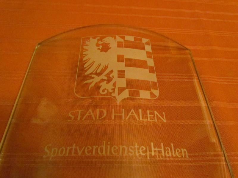 Rik krijgt Trofee voor sportverdienste in Halen