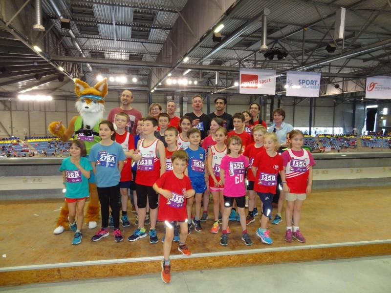 Zaterdag 18 Maart 2017 VAL jeugdsportdag in de Topsporthal in GENT en Urban Run Geetbets