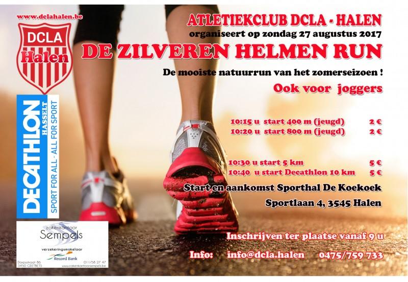 Zondag 27 Augustus 2017 Zilveren Helmen Run