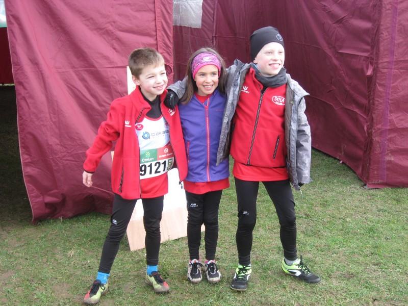 Zondag 4 februari 2018 Prov. Kamp Veldlopen  met uitslagen Limb en Vl Brab