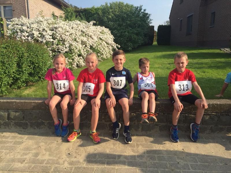 Vrijdag 11 Mei 2018 2 dorpenloop in Waanrode.