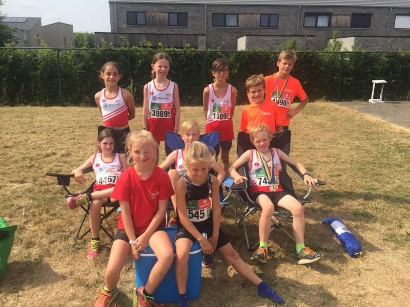 7- 8  Juli 2018 Jeugdmeeting TACT Sint Truiden/ Glabbeek Loopt