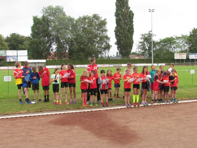 Dinsdag 10 Juli 2018 Belgium GoGoGo training voor de jeugd.