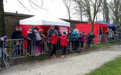 Zondag 23 december 2018 LCC veldloop in Dilsen Stokkem.