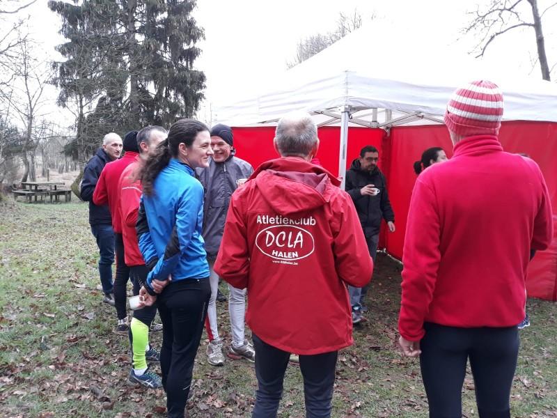 Dinsdag 1 Januari 2019 Nieuwjaarstraining Heesbos Zelem (Halen)