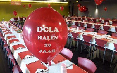 DCLA Halen werd 20 jaar en wees maar zeker dat wij dat goed vierden